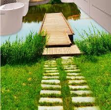 3d flooring wallpaper custom waterproof 3d pvc flooring beautiful