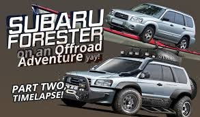 customized subaru forester off road subaru offroad shenanigans offroad pics thread page 11