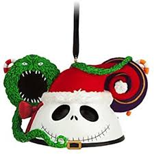 disney parks santa skellington mickey mouse ears