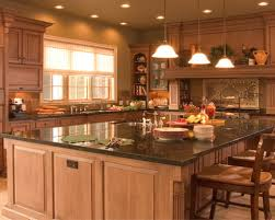 luxury kitchen ideas with black granite countertop for stylish