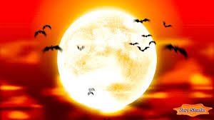 halloween moving screensavers full moon bats screensaver and live animated wallpaper for pc and