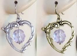 niobium earrings niobium and titanium hook earrings with charms at wear earrings