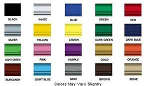 motorcycle paint color chart ideas