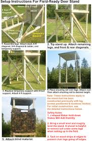 Building A Hunting Blind Box Deer Stand Others Pinterest Box Deer Hunting And