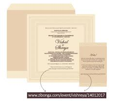 Wedding Registry Cards For Invitations Read About Vishal U0026 Shreya Gift Registry Success Story Zibonga