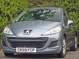used stone grey metallic peugeot 207for sale dorset