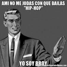 Bboy Meme - ami no me jodas con que bailas hip hop yo soy bboy meme de a mi