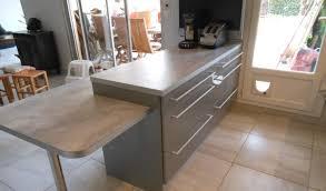 faire plan de travail cuisine lasure plan de travail cuisine avec faire table avec plan de travail