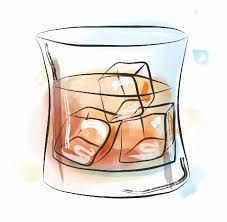 old fashioned cocktail illustration cocktails u2014 lydia rose carter
