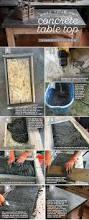 Table Top Ideas The 25 Best Concrete Table Top Ideas On Pinterest Concrete