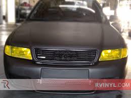 rtint皰 audi a4 sedan 1996 1998 headlight tint