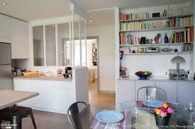 cuisine cote maison epure et design pour une cuisine verrière à neuilly laurence