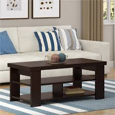 amazon com altra jensen coffee table espresso kitchen u0026 dining