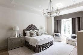 Light Grey Headboard Gray Velvet Tufted Headboard Contemporary Bedroom Jenn