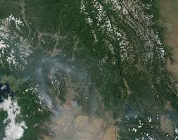 Bc Wildfire Live Map by Nasa Visible Earth Wild Fires In Washington State And British