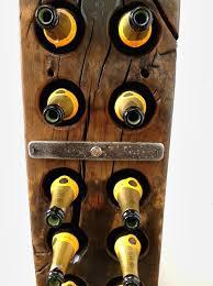 dockers vault reclaimed english oak wine rack