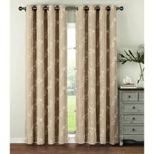 window elements semi opaque ashley embroidered faux linen extra