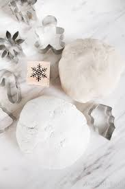 diy white salt dough recipe domestically blissful