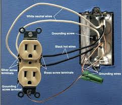 electrical outlet wiring electrical wiring example electrical