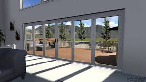 Folding Patio Doors Prices by Architecture Extraordinary Glass Wall System Design By Nanawall