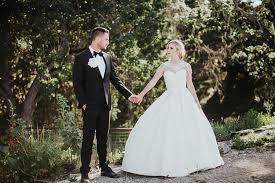 wedding dress garden party san luis obispo garden party wedding ruffled