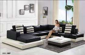 livingroom sofas living room modern u shape leather sofa living room furniture