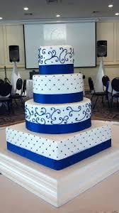wedding cake royal blue wedding cakes kelsey s kakes