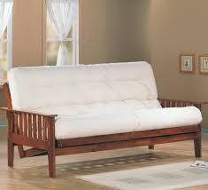 appealing brown chocolate wooden leather mission style sofa wooden