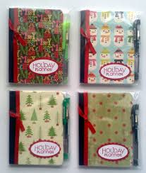 mini composition books holiday planners these would be so easy