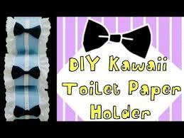 diy bathroom decor cute toilet paper holder youtube