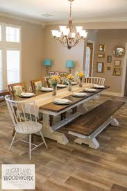 solid wood trestle dining table custom solid wood trestle dining table by sugar land woodworx out of