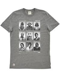 class of 77 wars t shirt chunk wars class of 77 t shirt in grey marl