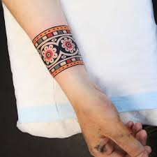 best 25 cuff tattoo ideas on pinterest arm cuff tattoo thin