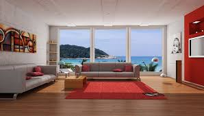 graffiti living room design home decorating interior design