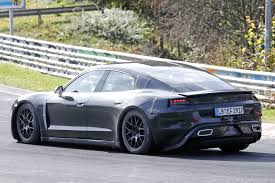 Spied Porsche Caught Flogging The Mission E On The Nurburgring