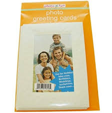 photo insert cards 6pk photo insert greeting cards embossed custom 4 x 6