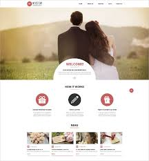 wedding web 19 wedding website themes templates free premium templates