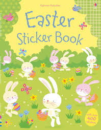 easter bunny book easter sticker book at usborne books at home