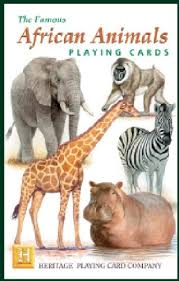 animals cards toys
