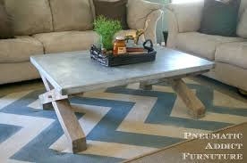 Knock Off Pottery Barn Furniture Ana White Pottery Barn Knock Off Zinc Coffee Table Diy Projects