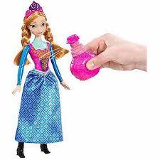 disney frozen royal color change anna doll walmart