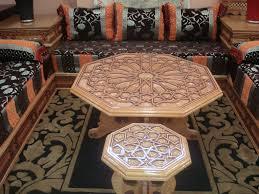 tissu canapé marocain salon marocain moderne et design