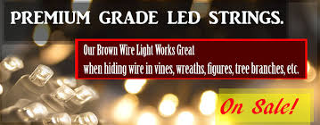 Brown Wire Christmas Lights Brown Wire Mini Lights Rustic Wedding Decorations Grapevine