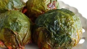 comment cuisiner des feuilles de blettes feuilles de blettes farcies recette par marlyzen
