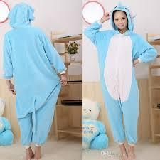 2018 blue elephant animal onesies pajamas for animal