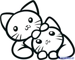 printable coloring pages kittens coloring pages kittens cat and kitten coloring pages kitten
