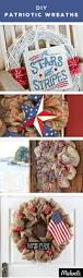 329 best patriotic projects images on pinterest red white blue greet your guests in style with a patriotic wreath red white and blue ribbons