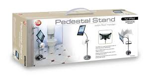 How To Hang Toilet Paper by Amazon Com Cta Digital Pedestal Stand For Ipad 2 3 4 With Roll