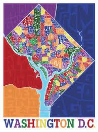 washington dc map puzzle washington dc neighborhood type map i lost my