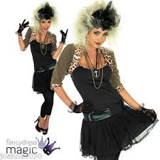 madonna costume eighties 80s 80 s pop fancy dress madonna costume and